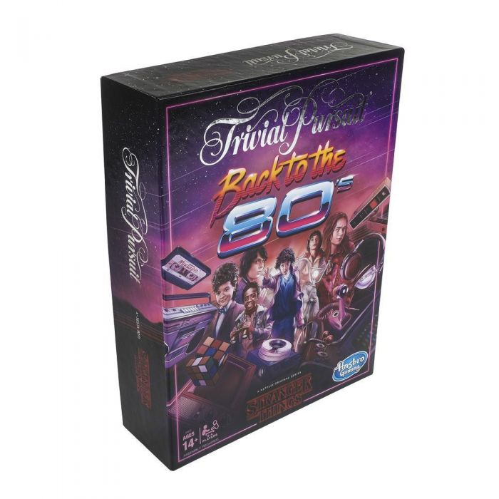 Trivial Pursuit Stranger Things Back to the 80/'s